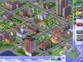 Sim City 3000 – Spieler baute 3 Jahre an der perfekten Stadt