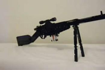 Sniper aus LEGO-Steinen gebaut