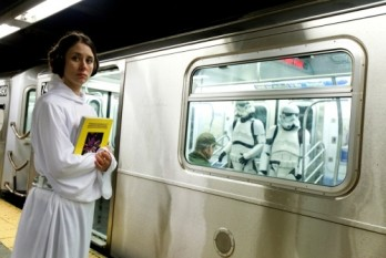 Star Wars in der U-Bahn?!