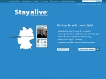 Macht euch unsterblich – Stayalive.com