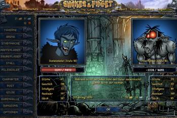 Kostenloses Comic MMORPG Shakes und Fidget