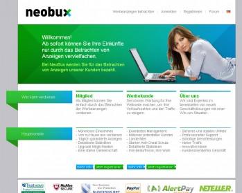 Geld verdienen im Internet mit NeoBux