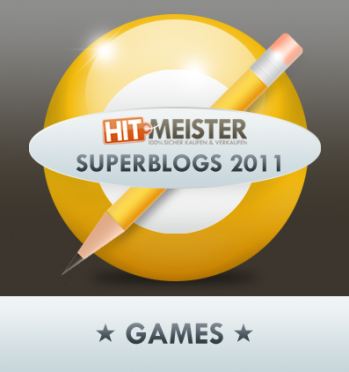 Superblogs 2011 – Der MOE-Blog wurde in der Kategorie Games nominiert