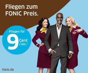 Gewinnspiel – FONIC und Germanwings verleihen euch Flügel