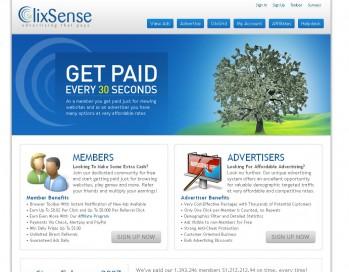 Geld verdienen im Internet mit ClixSense