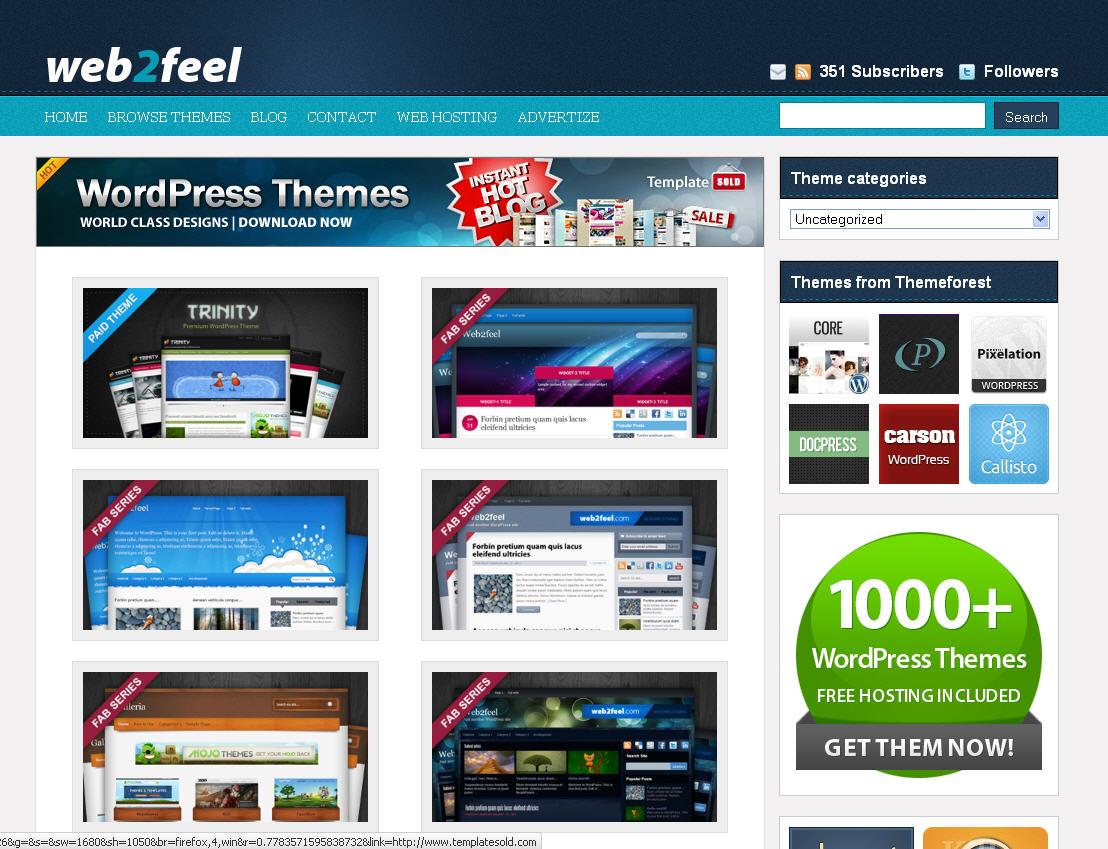 der MOE-Tipp der Woche: WordPress Themes von Web2Feel