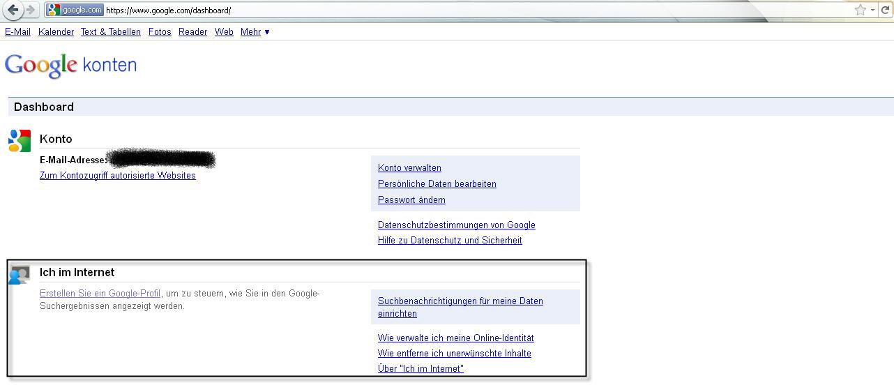 """""""Ich im Internet"""" – Der neue Google-Dienst zur Online-Identität"""