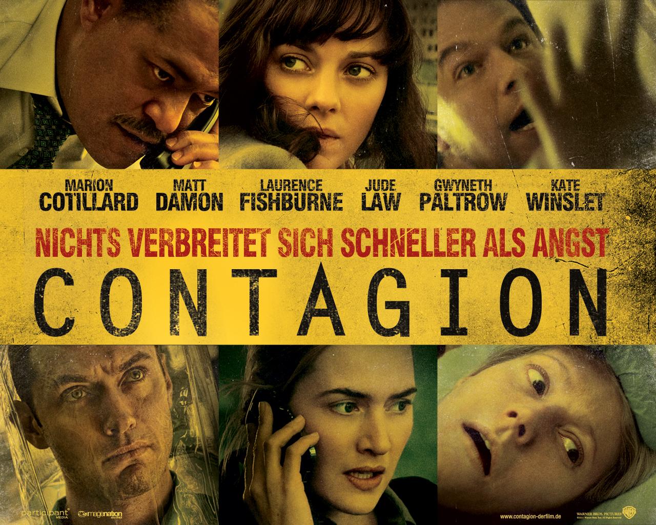 Contagion – Trailer und Infos zum Nr. 1 HIT aus Amerika