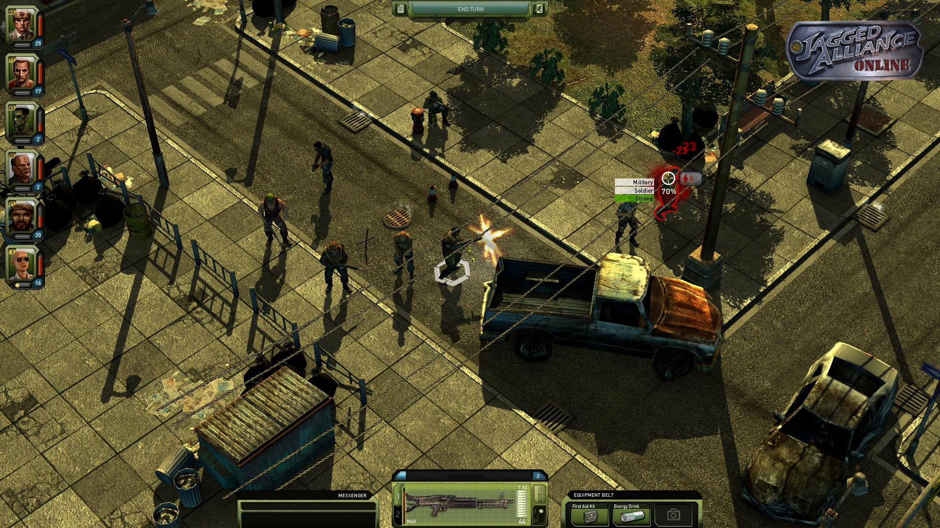 Jagged Alliance Online – Start der Open Beta