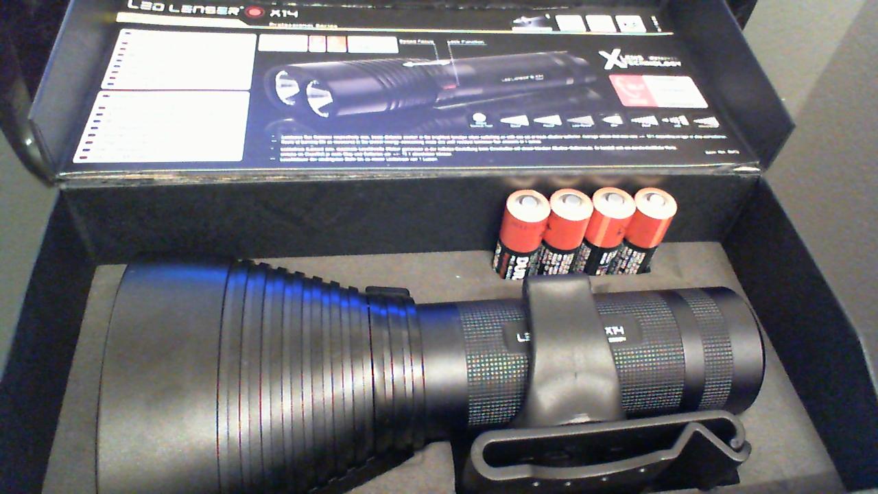 Videoreview der LED LENSER X14