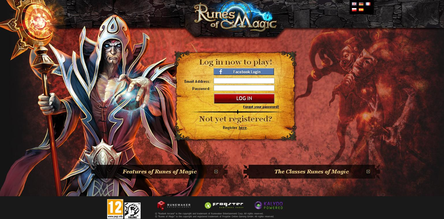Runes of Magic – Ab sofort über den Browser spielbar