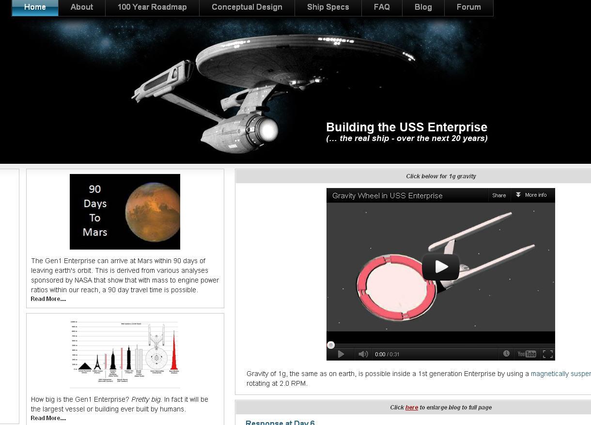 Wird bald die echte Raumschiff Enterprise gebaut – US-Ingenieur ist überzeugt