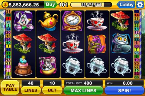 Slot-Spiele für das iPhone