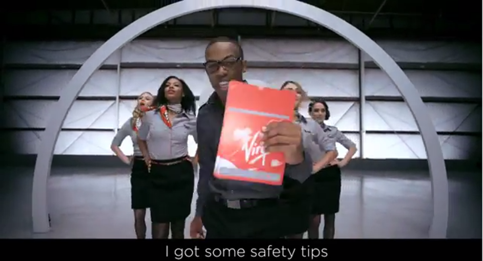 Virgin America Safety Video