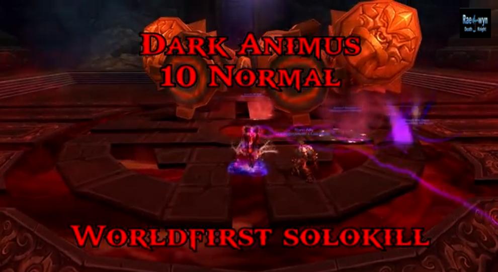 WoW: Mists of Pandaria – Todesritter besiegt SOLO den Raidboss Dark Animus