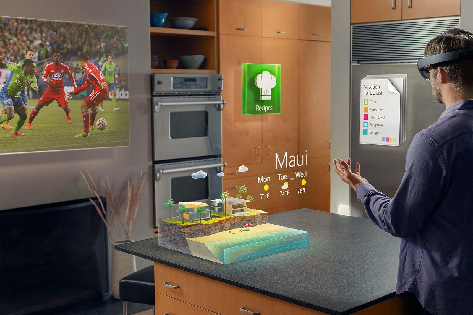 HoloLens – Microsoft stellt Hologramm-Brille vor