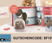 Valentinstags-Geschenktipp + Rabatt Gutschein von Snapfish