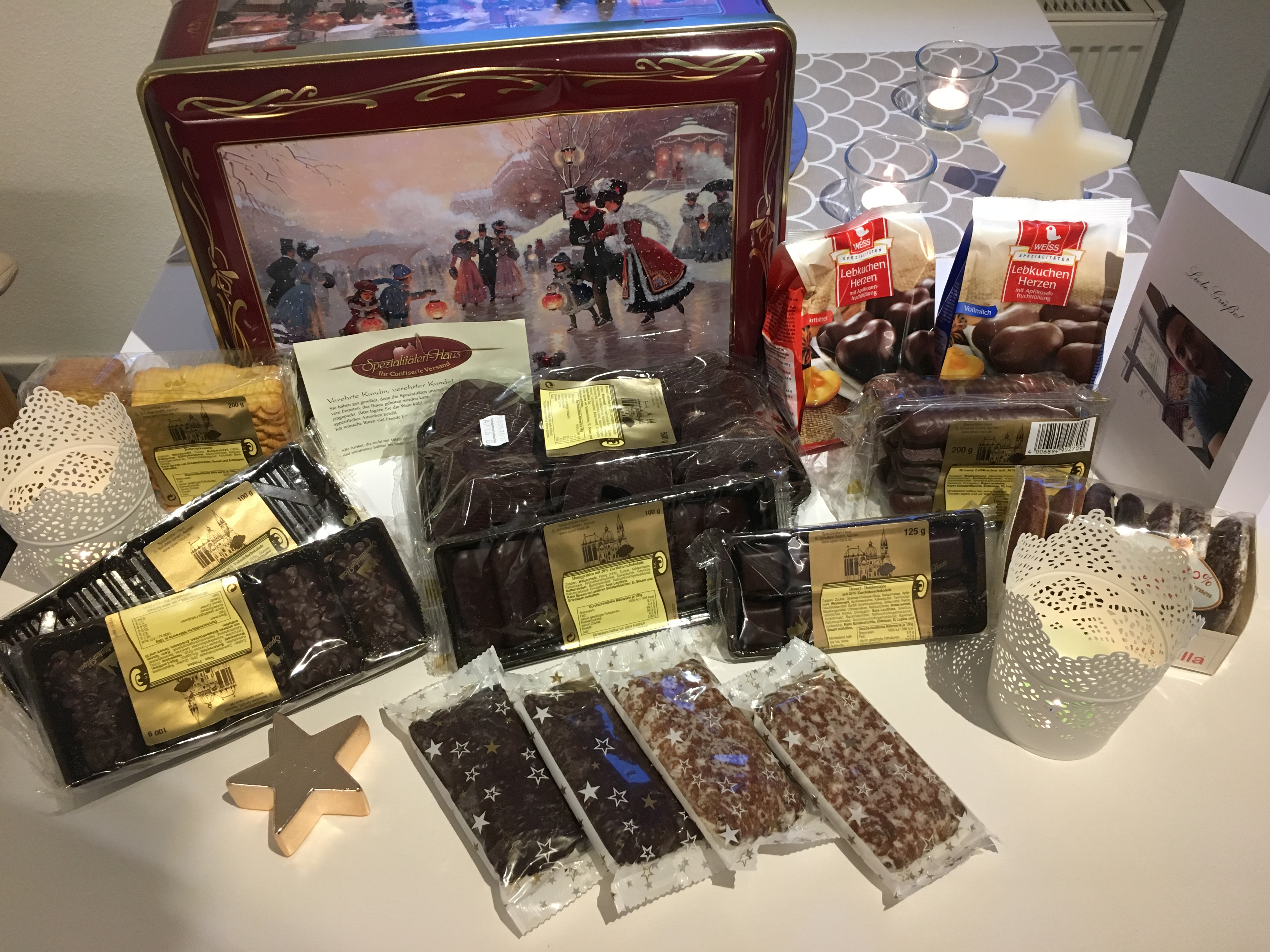 Spezialitäten-Haus – Weihnachten mit der Eistanz Truhe